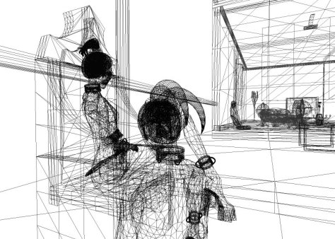 Second Life Wireframe